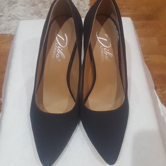 d2980cda4bc Diba London black heels